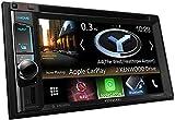 Kenwood DNX4180BTS Navitainer mit 15,7 cm WVGA-Monitor, Bluetooth, Apple Car Play, Spotify Control und Weblink Schwarz