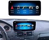 Road Top Android 10 Autoradio 10,25' Touchscreen für Mercedes Benz C-Klasse W204 C200, C230, C250, C300, C280, C350 2008 bis 2010 Jahr,...