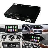 Wireless CarPlay Android Auto fürMercedes Benz A Klasse W176 B W246 CLA GLA C Klasse W204 E Klasse W212 C207 CLS W218 ML GL GLK SLK R72 G W463, mit...