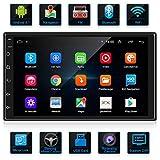 ANKEWAY 7 Zoll RDS Android Autoradio 2 DIN Bluetooth Autoradio FM Radio GPS Navigation, Auto-Multimedia-Player mit 1080P HD-Touchscreen,...