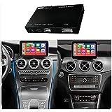 Road Top Wireless Carplay Nachrüstsatz Decoder, Android Auto Modul Empfänger Box für Mercedes Benz C GLC W205 V A B E CLS Klasse W212 X156 C117...