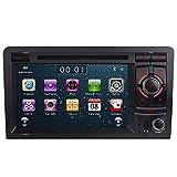 7' AUTORADIO MIT 3G DVD GPS Navigation USB SD Bluetooth Autoradio CD Moniceiver+Bluetooth+ Dual Zone+Subwoofer+DAB+VMCD Für Audi A3 S3 RS3 8P 8V 8PA...