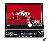 Caliber RDD571BT Moniceiver, 1Din Autoradio ; 7Zoll TFT Schirm / DVD mit Anschluss für Rückfahrkamera, inkl. Fernbedienung,...