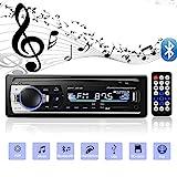 Andven Autoradio mit Bluetooth Freisprecheinrichtung, Digital Media-Receiver, 4X60W Auto Radio 1 Din, USB/SD/AUX/ MP3-Player Receiver mit...