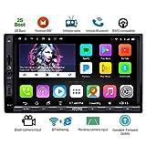 ATOTO A6 Doppel-Din Android Auto Navigation Stereo mit Dual Bluetooth - Standard A6Y2710SB 1G / 16G Auto Unterhaltung Multimedia Radio, WiFi/BT...
