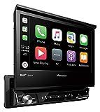 Mediacenter Moniceiver 1 DIN AVH-X7800BT Pioneer Radio mit ausfahrbarem Bildschirm 7 Zoll Touchscreen Monitor, Bluetooth Freisprecheinrichtung, CD,...
