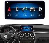 Road Top Android 10 Auto Stereo 10,25'Touchscreen für Mercedes Benz C GLC Klasse W205 C350E, GLC250, GLC300, C63 AMG 2015-2018 Jahr Auto,...