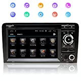 7 Zoll 2Din Autoradio Android 9.0 Quad-Core-Prozessor Für Audi A3,Mit Touch Screen GPS Navigation RAM2GBROM32GB WIFI Internet DVD CD Bluetooth...