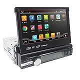 Android 10 Universal Radio 1 Din Autoradio 7 Zoll GPS Auto Navigator 2G RAM 32G ROM Unterstützung Touchscreen WiFi Bluetooth Spiegel Link...