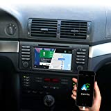 DYNAVIN Autoradio Navi für BMW 5er E39 1996 – 2003 / Range Rover 2002-2004; 7 Zoll Radio mit Android Auto, Bluetooth, USB, DAB+ Ready; N7-E39 Pro