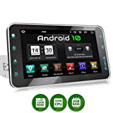 XOMAX XM-VA801 Autoradio mit Android 10, QuadCore, 2GB RAM, 32GB ROM, 8 Zoll / 20,3cm Touchscreen, GPS Navigation I Support: WiFi WLAN, 3G 4G, DAB+,...