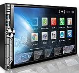 Tristan Auron BT2D7019A Android 9.0 Autoradio I 7'' Touchscreen Bildschirm I mit Navi GPS I Bluetooth Freisprecheinrichtung I Quad Core USB SD OBD 2...