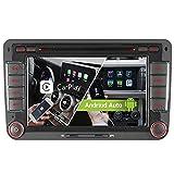 7' 2-Tuner Android 10.0 DVD GPS 2+32GB Android Auto+Carplay BT 5.0 DSP Autoradio Navigation für VW Passat B6 Golf V VI 5 6 Touran Tiguan Multivan T5...