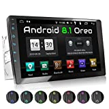 XOMAX XM-2VA1001 Autoradio mit 10 Zoll / 25,4 cm 10 Zoll / 25,4 cm XXL Touchscreen I Android 8.1, 2GB RAM, 16GB ROM, GPS Navigation I Support: WiFi...