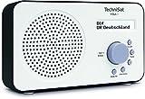 TechniSat VIOLA 2 tragbares DAB Radio (DAB+, UKW, Lautsprecher, Kopfhöreranschluss, zweizeiligem Display, Tastensteuerung, klein, 1 Watt RMS)...