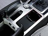 FFZ Parts Mittelkonsole Abdeckung Rahmen Edelstahl Optik Matt ABS Mittelkonsole Armaturenbrett Verkleidung Blende Autozubehör E Klasse W212 S213 C213...