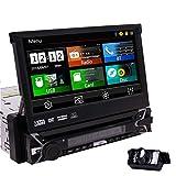EINCAR GPS Navigation 1Din Autoradio 7 Zoll Touchscreen Muti Anti Diebstahl abnehmbare Stereo Auto DVD Player Bluetooth Unterstützung Lenkrad...