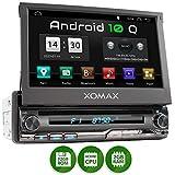 XOMAX XM-DA775 Autoradio mit Android 10, QuadCore, 2GB RAM, 32GB ROM, GPS Navigation, DVD, CD I Support: WiFi WLAN, 3G 4G, DAB+, OBD2 I Bluetooth, 7...