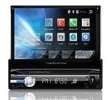 Tristan Auron BT1D7021A Autoradio mit Android 8.1, 7'' Touchscreen Bildschirm, GPS Navigation, Bluetooth Freisprecheinrichtung, Quad Core Prozessor,...