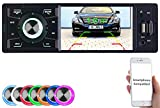 Creasono Autoradio 1 DIN: MP3-Autoradio mit TFT-Farbdisplay, Bluetooth, Freisprecher, 4X 45 Watt (1 DIN Radio)