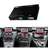 Road Top Wireless Carplay Android Auto Retrofit Kit Decoder für Mercedes Benz GLC C V A B Serie W205 W246 W447 X156 C117 X253 C253 2015-2018 Jahr und...