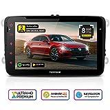 NEOTONE WRX-980A Autoradio für VW | Skoda | Seat | Android 9 | Navigation mit Europakarten | 8 Zoll | DVD | DAB+ Unterstützung | USB | WLAN |...