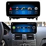 Koason 10.25 Zoll Bildschirm Monitor Android HD1920 Screen GPS Navigation Autoradio Wireless Carplay Multimedia Stereo Player für Mercedes Benz C...