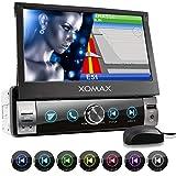 XOMAX XM-VN764 Autoradio mit Mirrorlink, GPS Navigation, Navi Software, Bluetooth Freisprecheinrichtung, 7 Zoll / 18cm Touchscreen Bildschirm, RDS,...