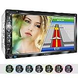XOMAX XM-2DN6906 Autoradio mit Mirrorlink I GPS Navigation I Navi Software inkl. Europa Karten I Bluetooth Freisprecheinrichtung I 18cm Touchscreen...