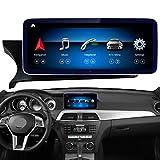 Road Top Android 10 Autoradio 10,25'Touchscreen für Mercedes Benz C-Klasse W204 C180 C200 C250 C300 C350 C63 AMG 2011-2014 Jahr,Unterstützt...