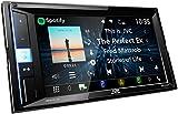 JVC KW-M450BT Digital-Media-2-Din-Autoradio mit 15, 7 cm Touchscreen (2X USB, Bluetooth Freisprecheinrichtung, Android- und Spotify Control) Schwarz