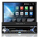 Tristan Auron BT1D7022A Autoradio mit Android 8.1, 7'' Touchscreen Bildschirm, GPS Navigation, Bluetooth Freisprecheinrichtung, Quad Core Prozessor,...