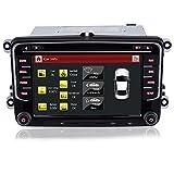 iFreGo 7 Zoll 2 Din Autoradio Für VW Golf 5/6,Für Tiguan,Für Caddy Für Polo, Autoradio GPS Navigation,DVD CD Player,Autoradio DAB+, Autoradio...