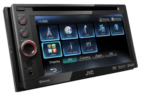 jvc kw av61bte kw av61bt autoradio mit navi. Black Bedroom Furniture Sets. Home Design Ideas