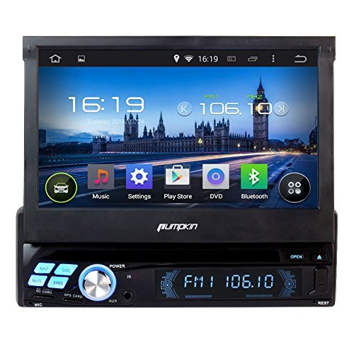pumpkin 7 zoll android 4 4 quad core autoradio autoradio mit navi. Black Bedroom Furniture Sets. Home Design Ideas