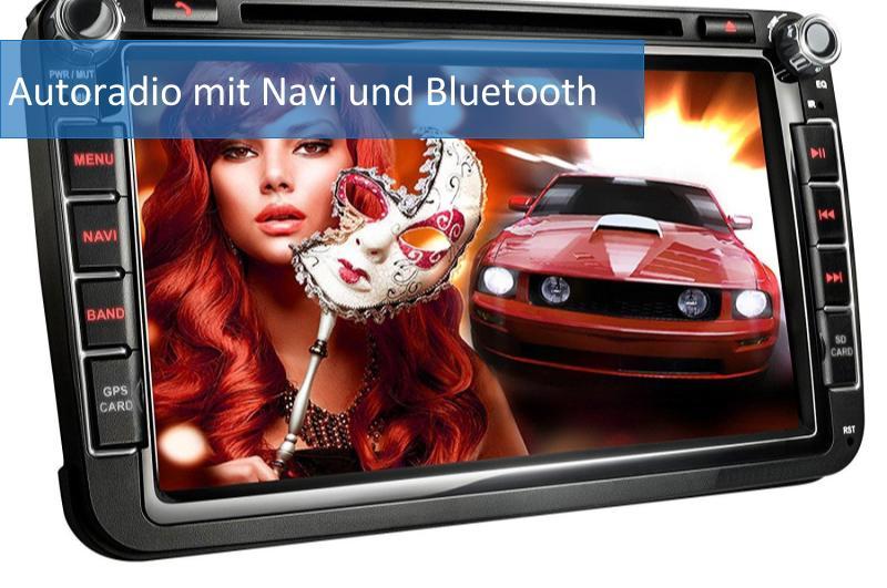 Autoradio mit Navi und Bluetooth