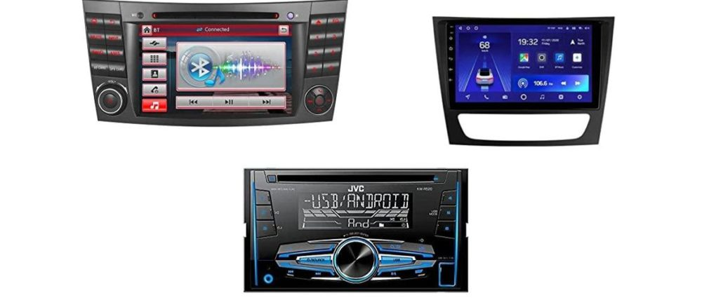Mercedes S211 Radio